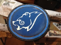 Fully Painted Emblem.