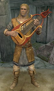 """Sven with his """"lute"""""""