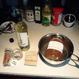 Ingredients List.